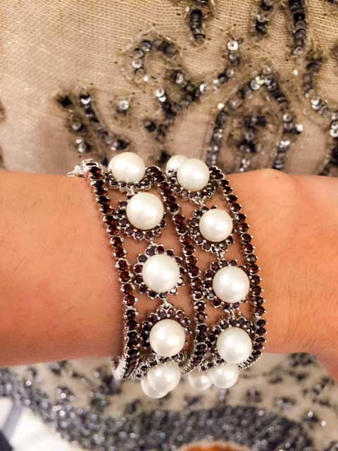 pulseira de perola bijuteria fina