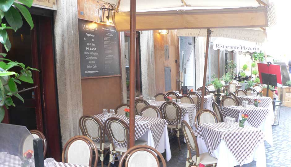 Restaurante Roma Piazza Navona
