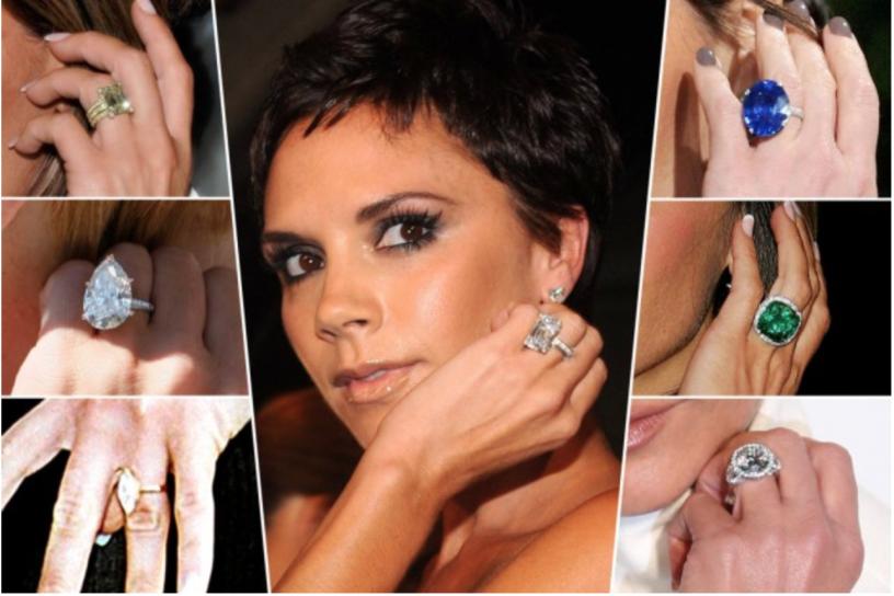 Para quem tem dez dedos, até que 13 anéis de noivado é uma boa quantidade!
