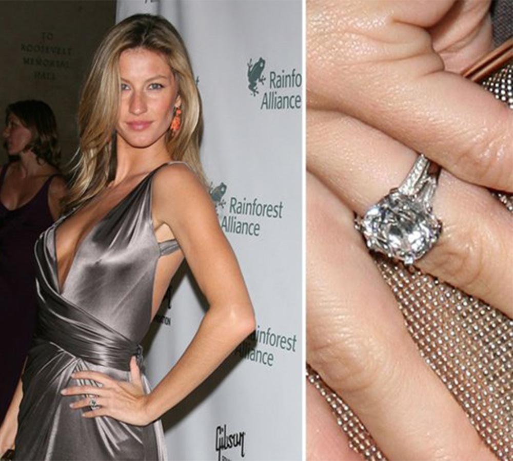 Desenho lindo e 4 quilates de diamante, impossível não amar/ Fonte: Getty Images