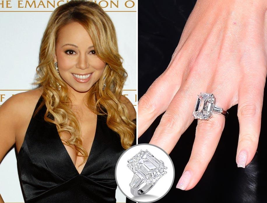 Anel de Noivado Mariah Carey
