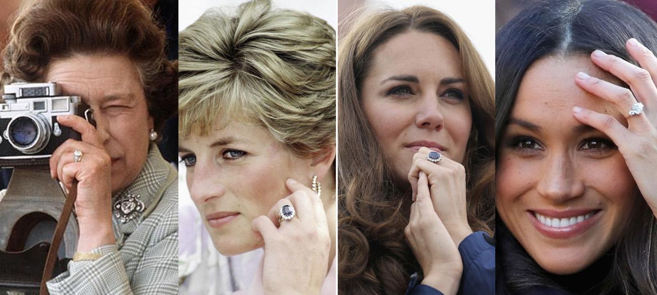 Anel de Noivado Realeza Britanica