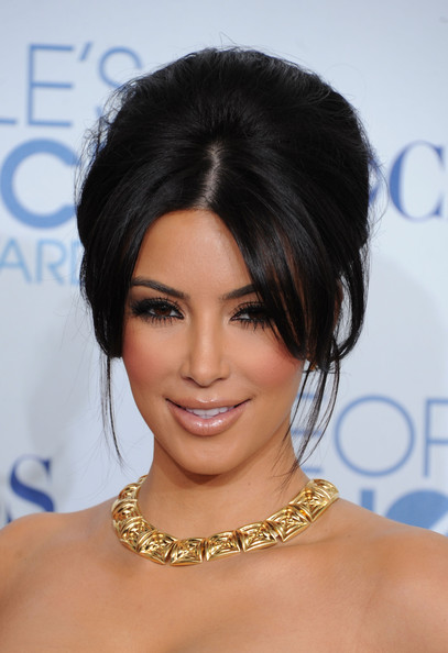 kim kardashian colar gargatilha ouro