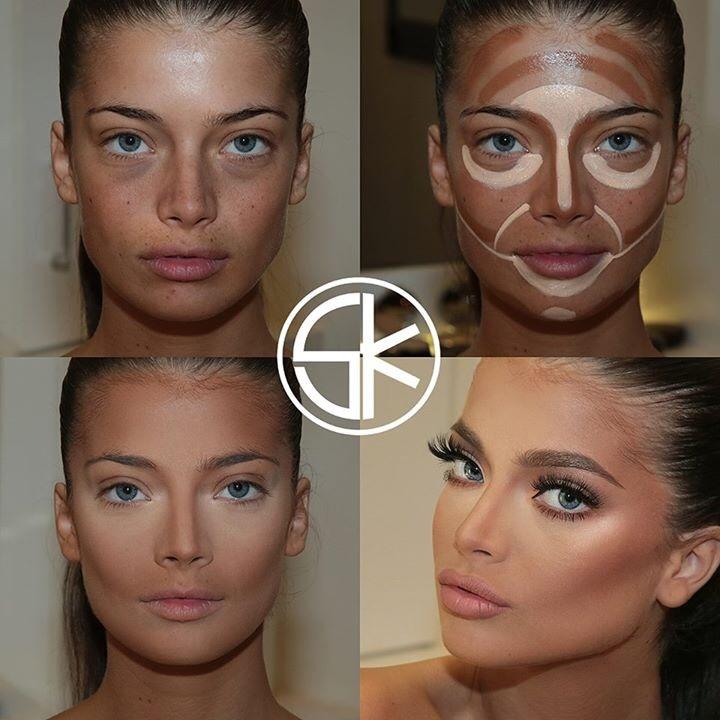 samer khouzami arrasa na maquiagem