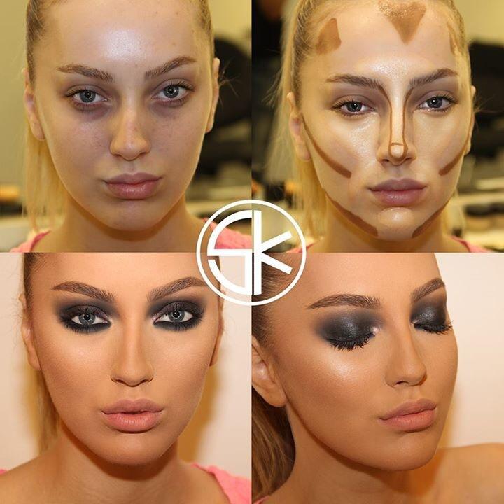 linda maquiagem de samer khouzami