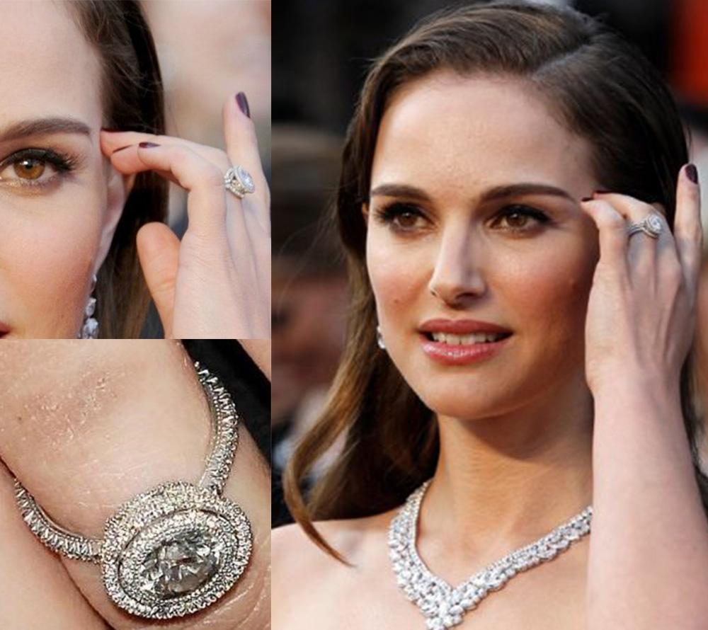 O anel de Natalie Portman é repleto de diamantes eco-friendly