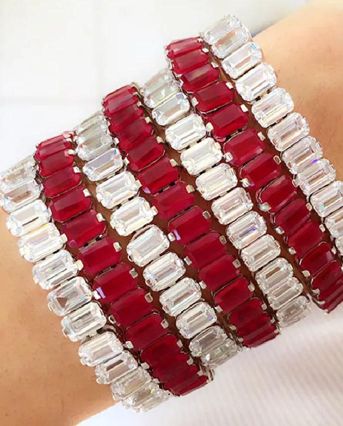 pulseiras rubi