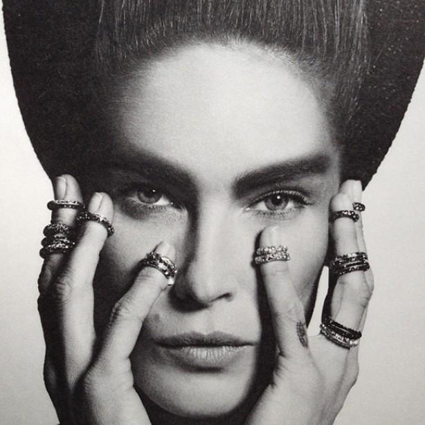 Aneis de falange Chanel