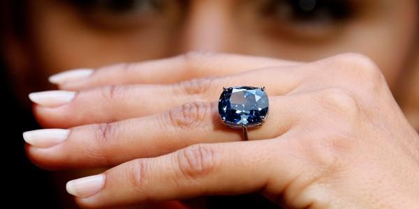 Diamante azul blue moon