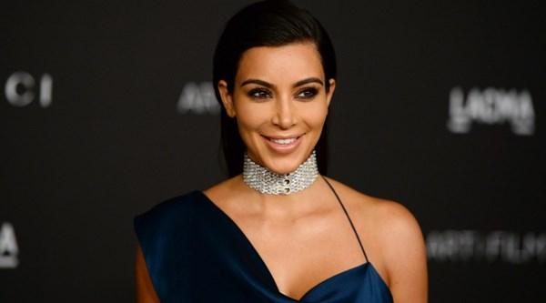Gargantilha de diamantes Kim Kardashian