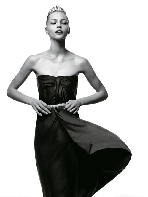 Tiara de jóia da Chaumet - Fonte: Vogue