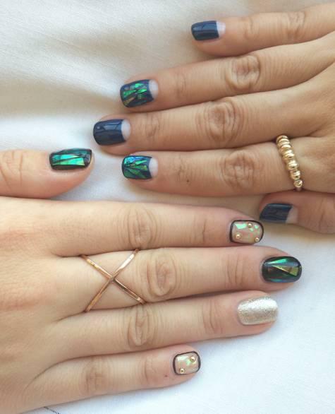Ultimas tendencias em unhas e semi joias