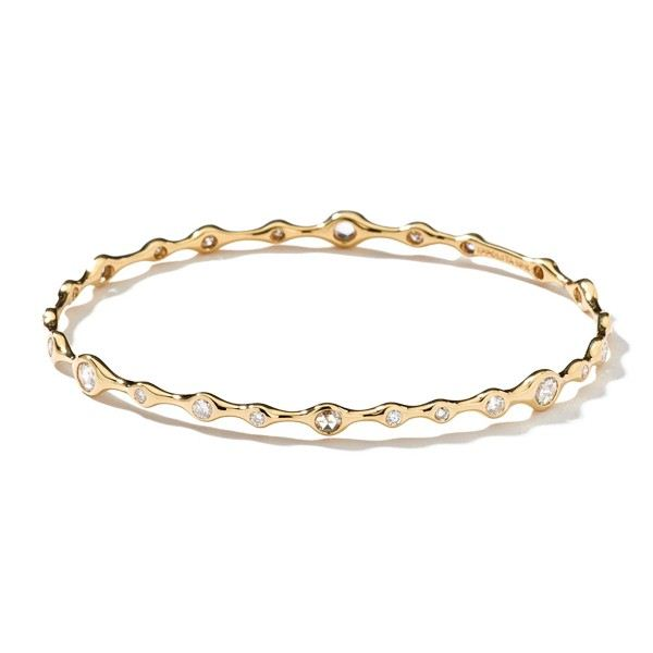 bracelete dourado zirconias cristais top100 semijoias