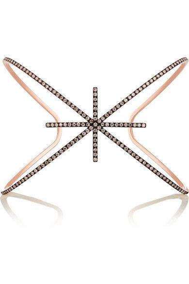 bracelete estrela grande cravejado top100 semijoias