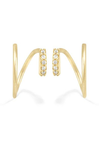 brinco moda minimalista dourado top100 semijoias