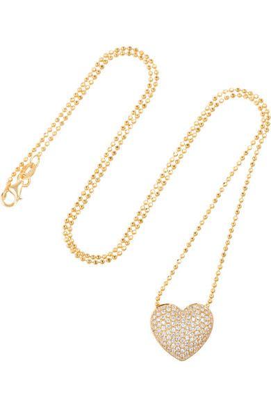 colar coracao delicado dourado top100 semijoias