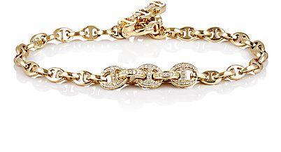 pulseira delicada chique dourada top100 semijoias