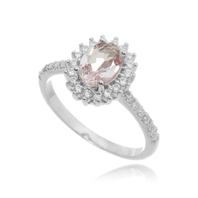 Semijoias natal anel rosa