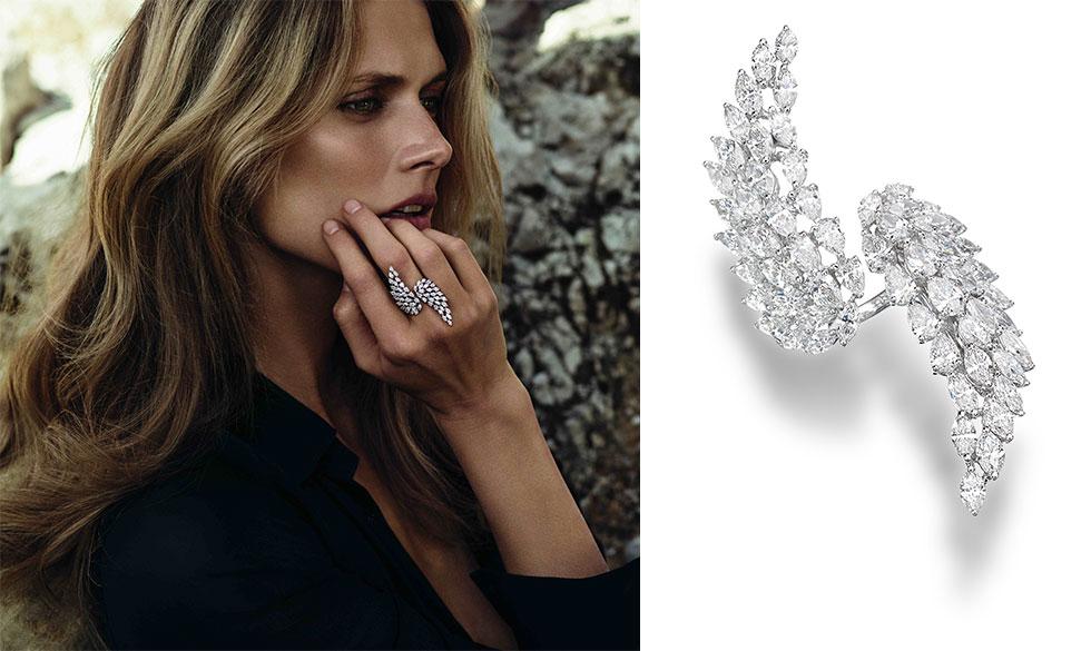 Aneis da moda prata