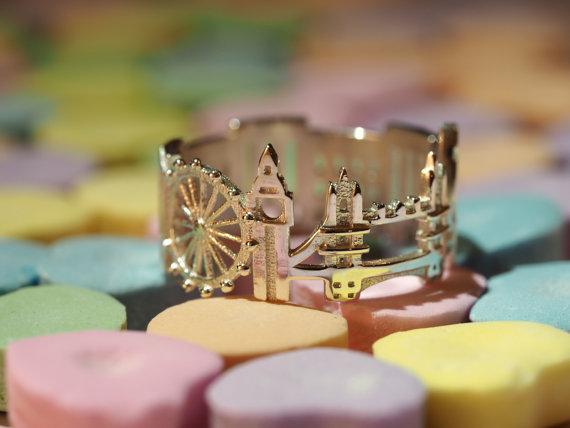 anéis de cidades Londres