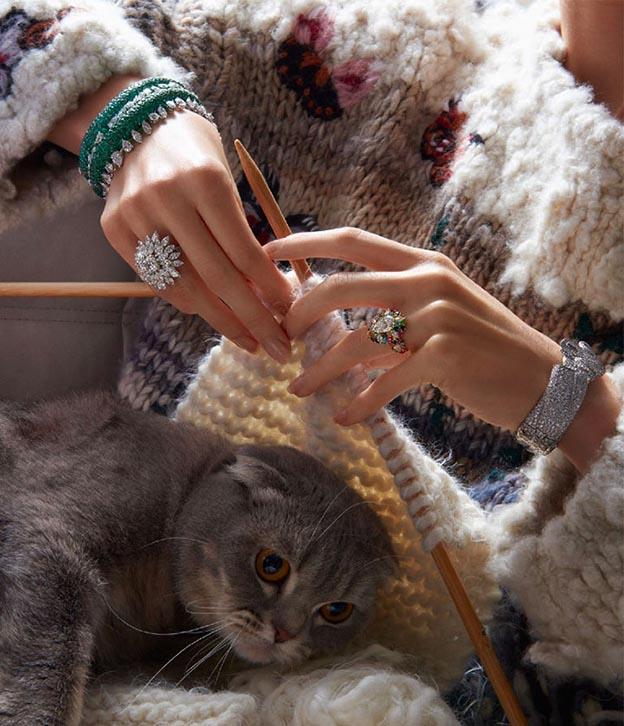 braceletes de luxo semijoias