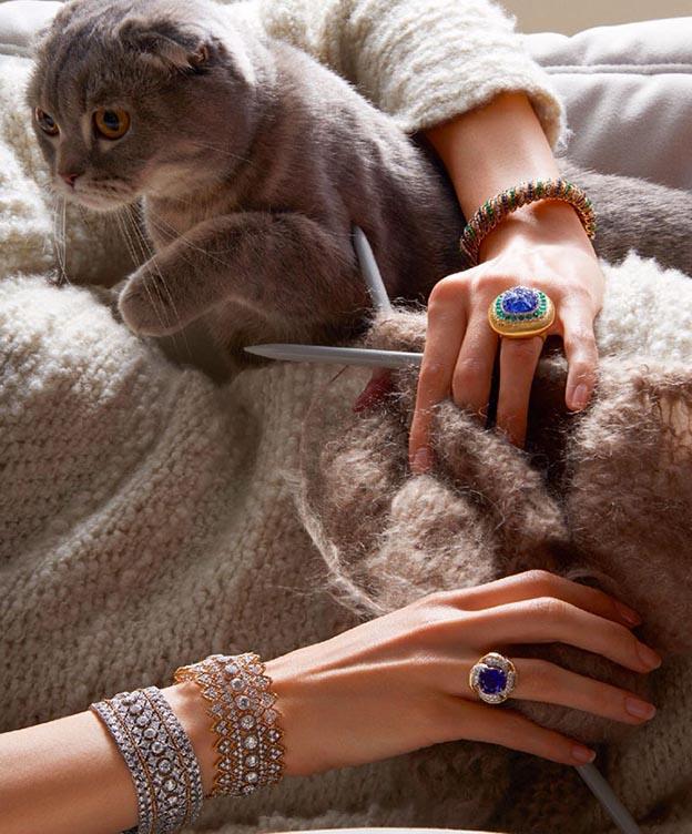 braceletes de luxo de diamantes