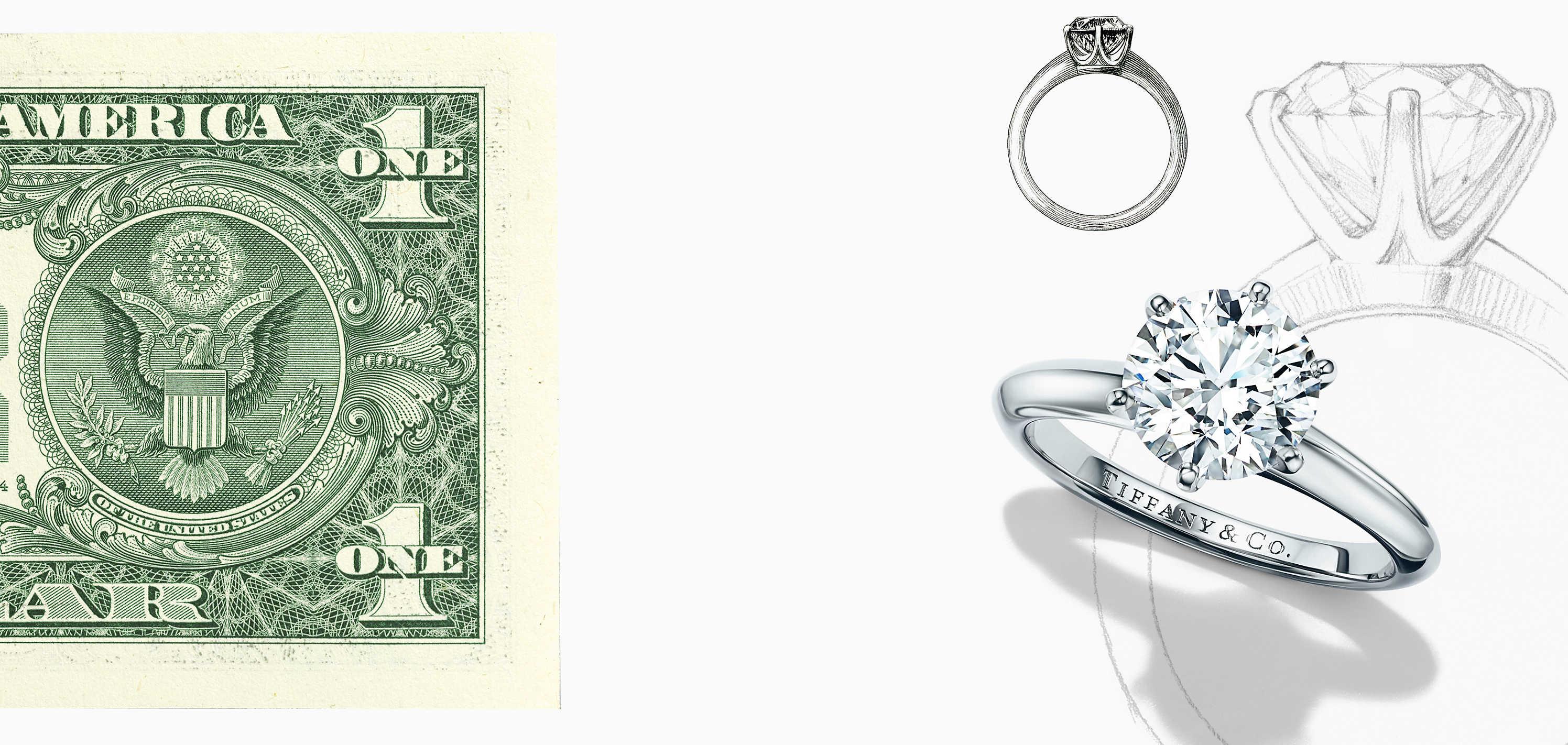 tiffany nota de dolar