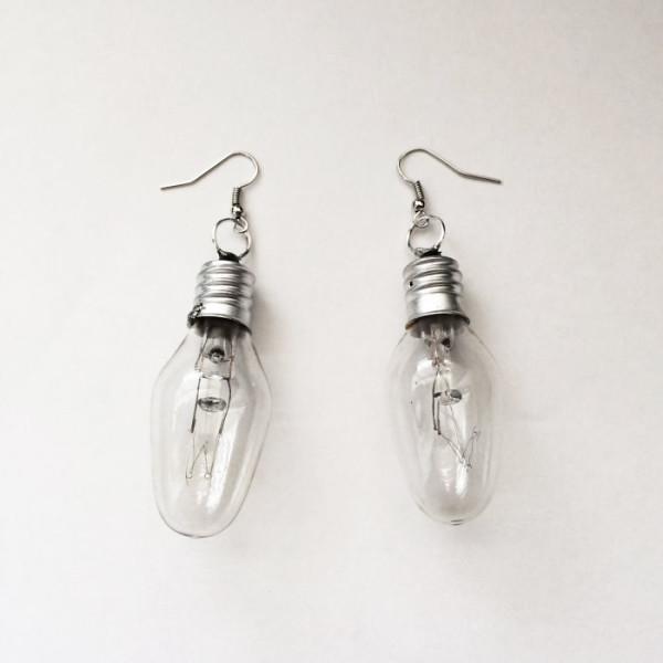 brincos criativos de bulbos