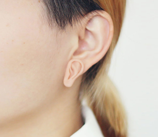 brincos criativos de orelha