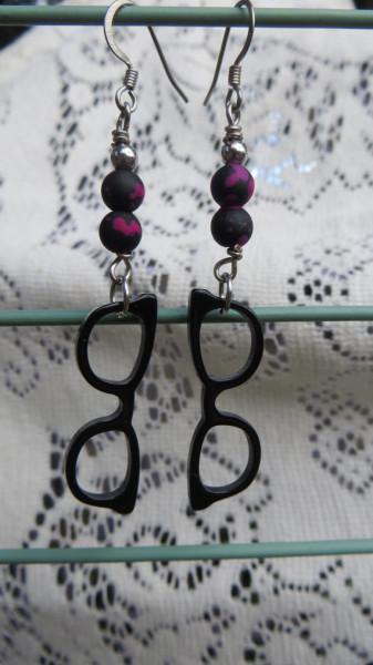 brincos criativos oculos