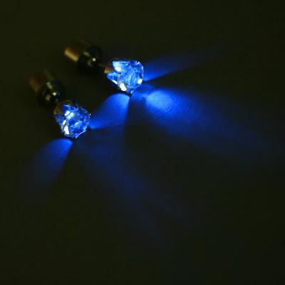 brincos de luzes
