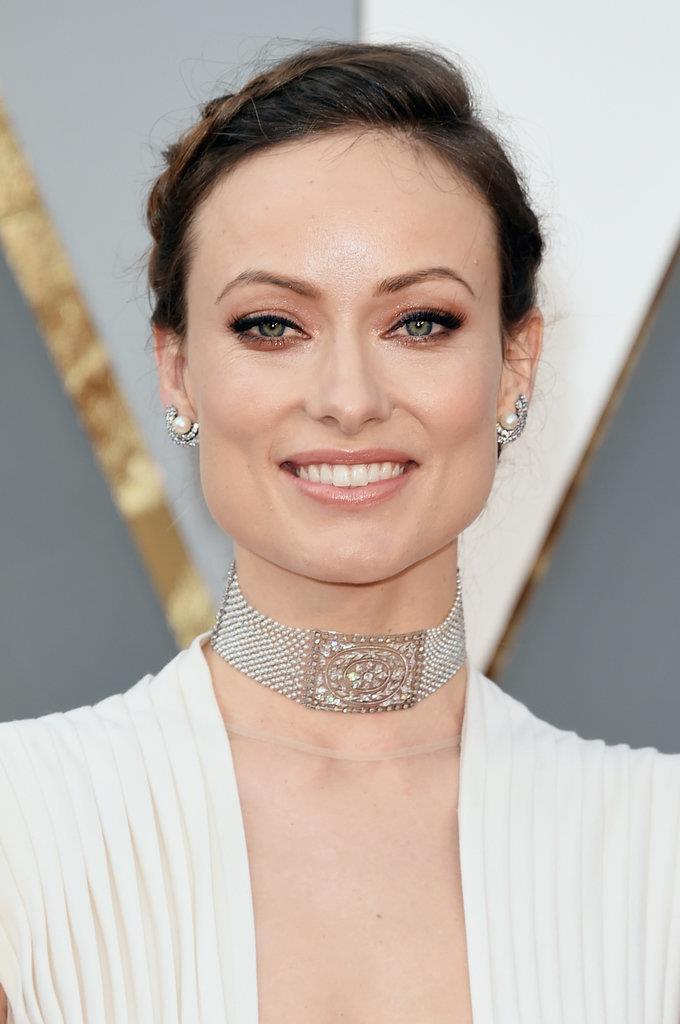 ear cuff diamantes perola Olivia Wilde