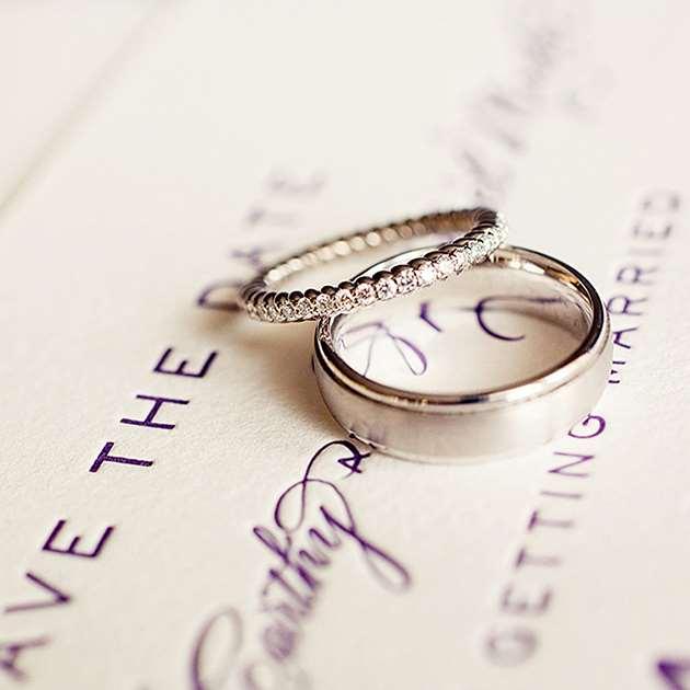 aliancas prata casamento