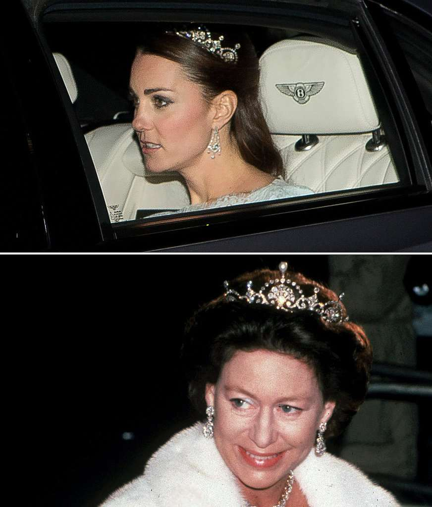 tiara lotus Kate Middleton