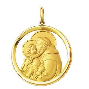 635fa0d6aa65e Medalhas de Santos - a fé refletida em um símbolo católico