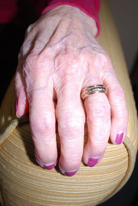 aliança para cada formato de mão