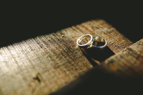 Alianças de casamento em prata 925