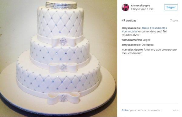 bolos de casamento