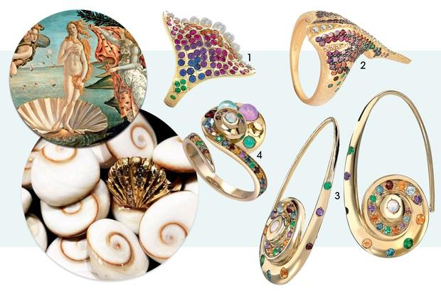 coleção sereismo joias