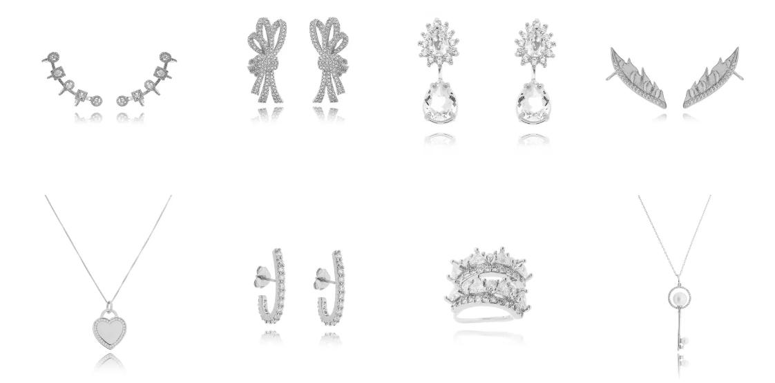 Semi joias em prata