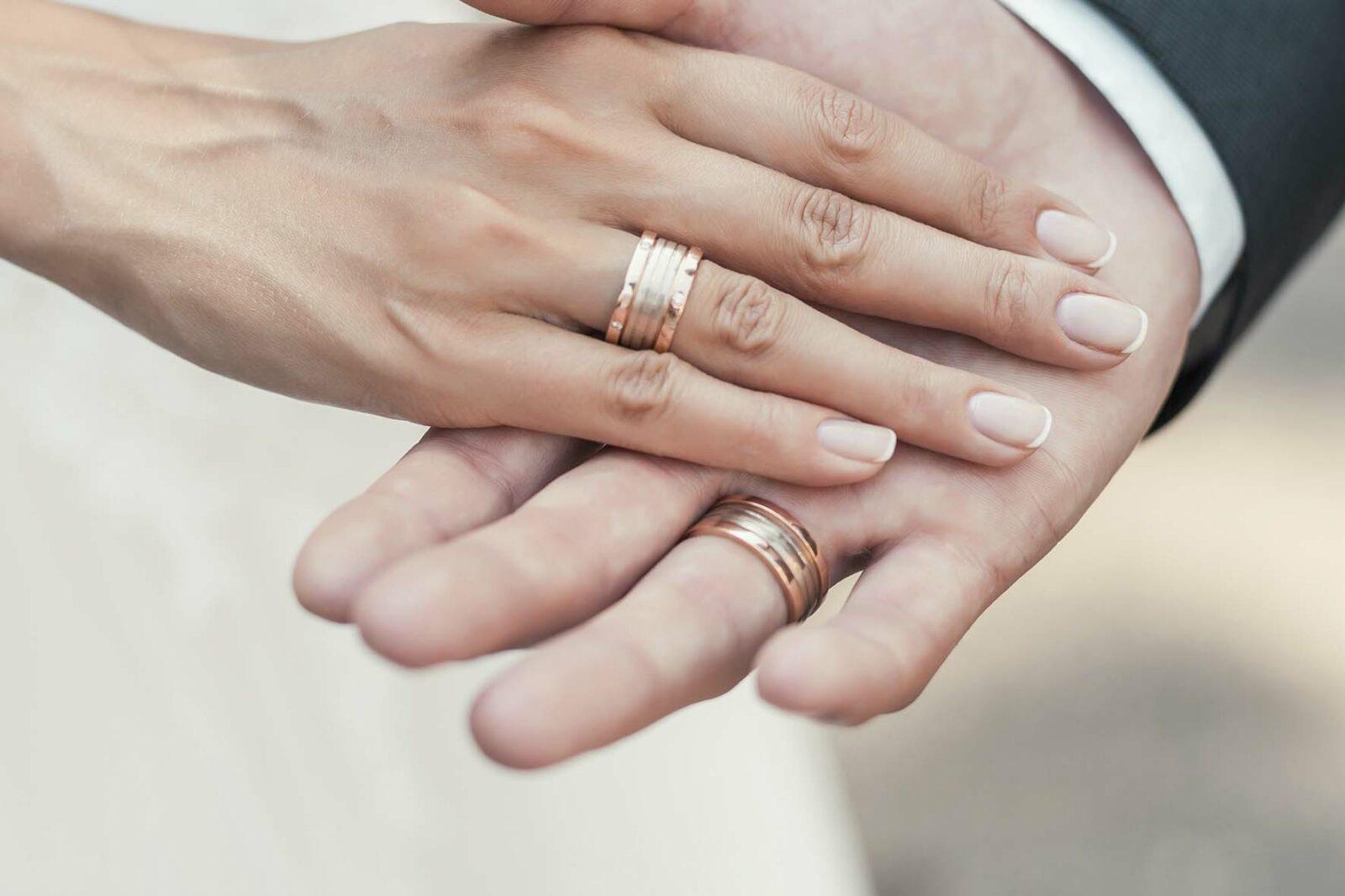 Alianças para dedos finos