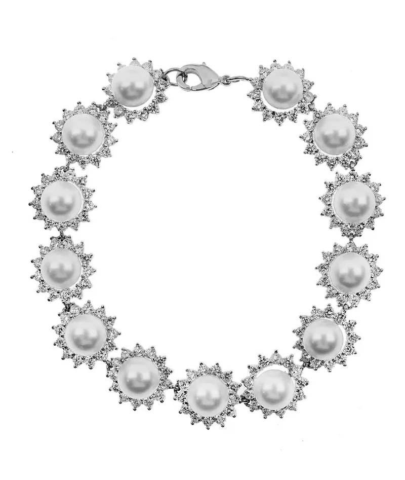 semi joias de perolas pulseiras