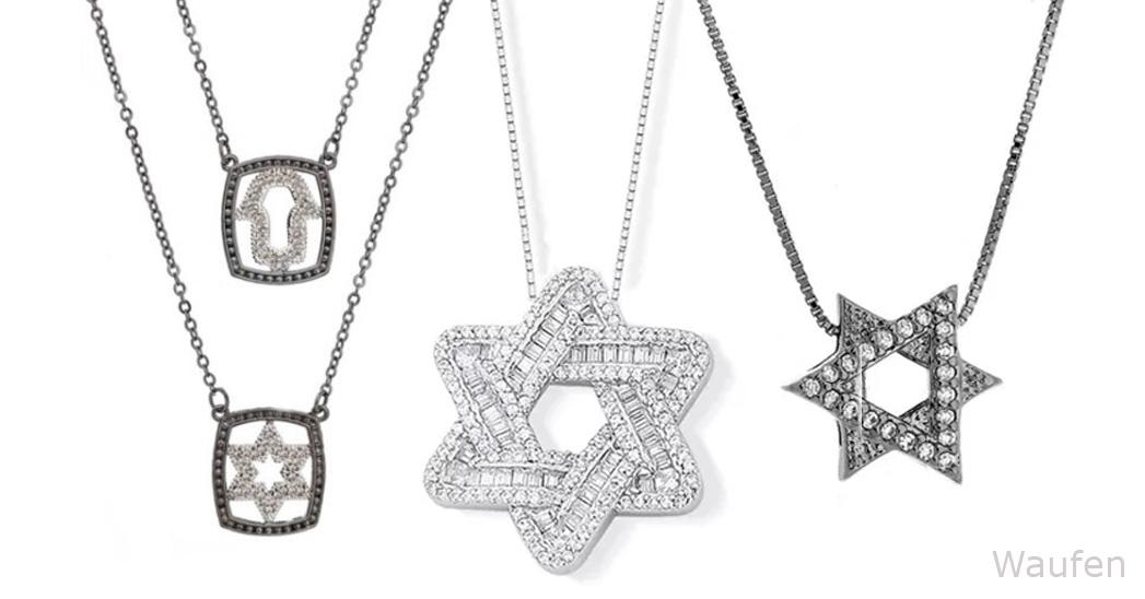 Colares Estrela de Davi