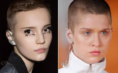 maquiagem na orelha