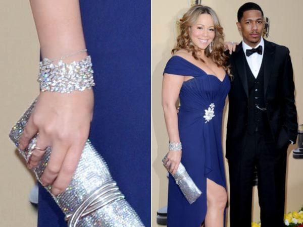 Mariah Carey usa joias da marca brasileira H.Stern.