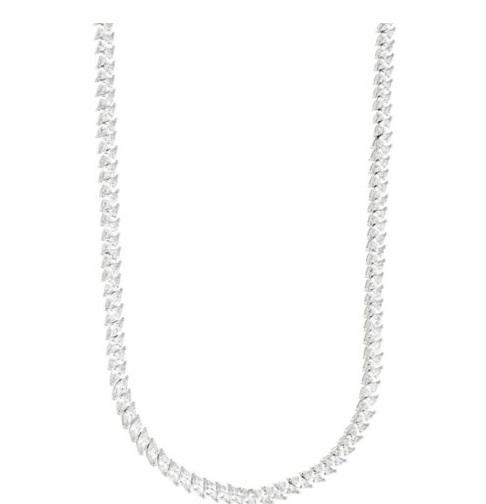 Semijoias Waufen: choker colar cravejado com zircônias.