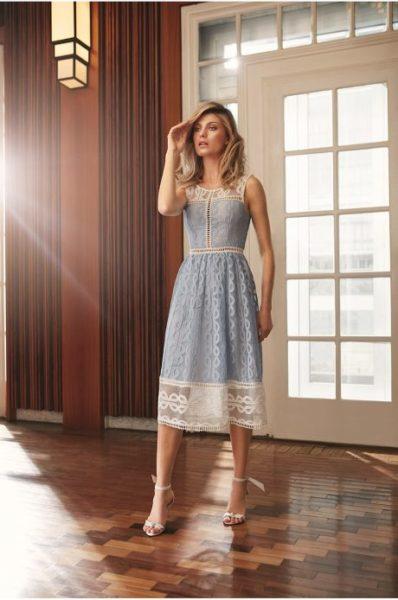 Marcela Temer com seu vestido Iorane.