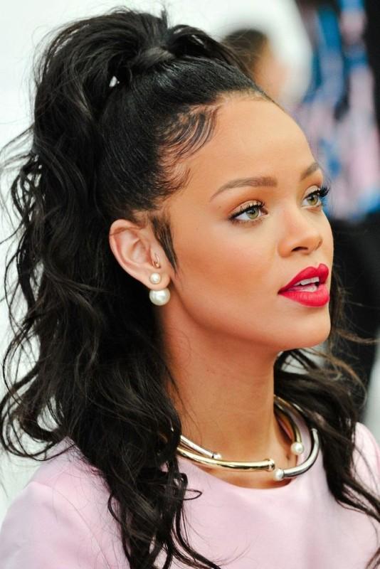 Rihanna Ear Jacket Pérola