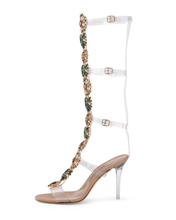 sapatos de swarovski rihanna e manolo blahnik