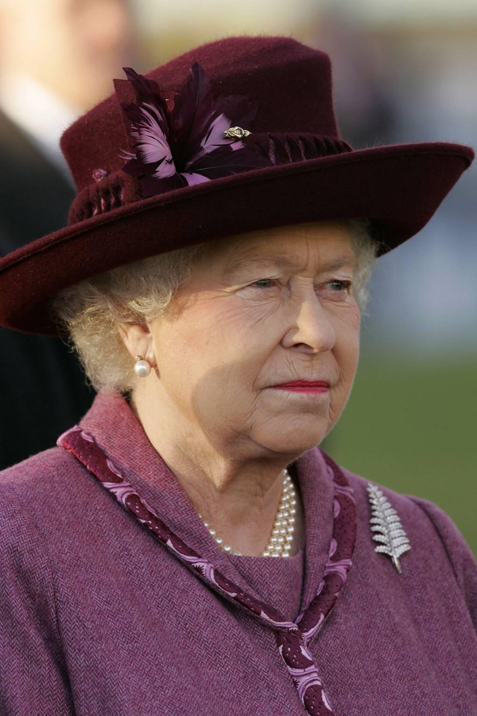 Broches da rainha Elizabeth samambaia
